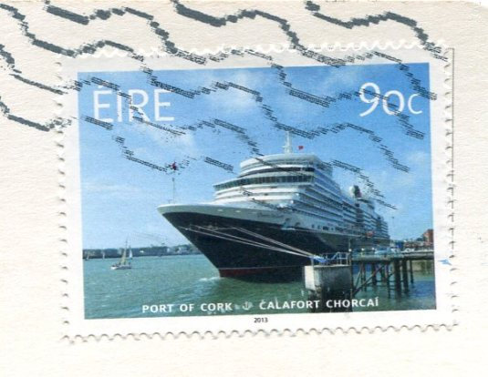 Ireland - Sailboat stamps