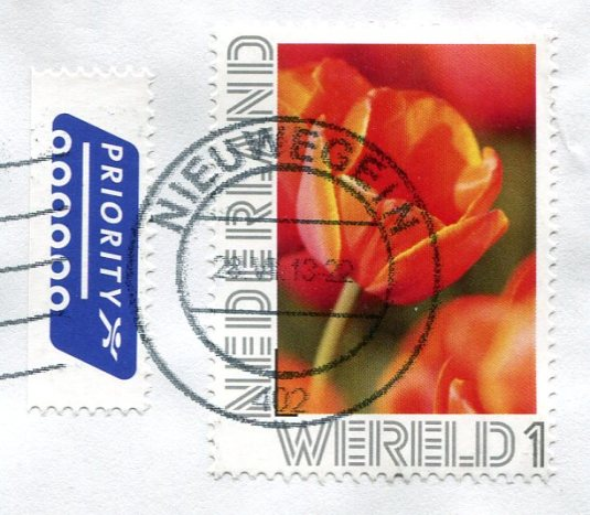 Netherland - Winter with Skaters stamps