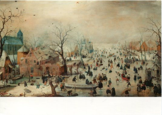 Netherland - Winter with Skaters