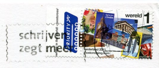 Netherlands - Groetjes stamps