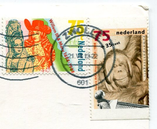 Netherlands - Jumping lambs stamps