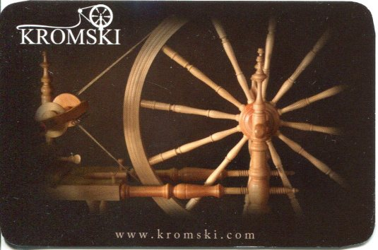 Poland - Kromski Wheels Pocket Calender