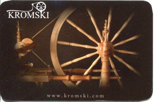 Poland - Kromski Wheels Pocket Calender