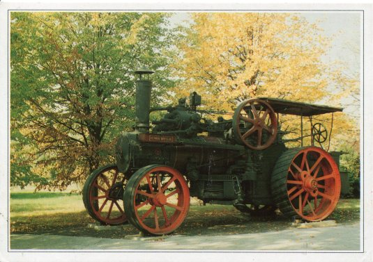 Poland -Locomobile Steam Plough