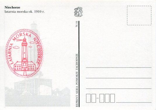 Poland - Niechorze Lighthouse back