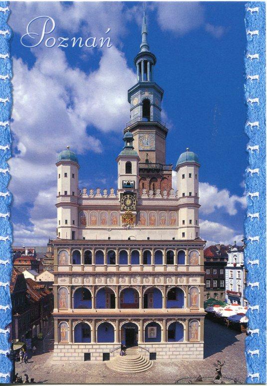 Poland - Poznan City hall Clock Tower