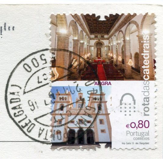 Portugal - Vila Franca do Campo stamps