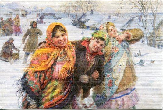 Russia - Women in Shawls