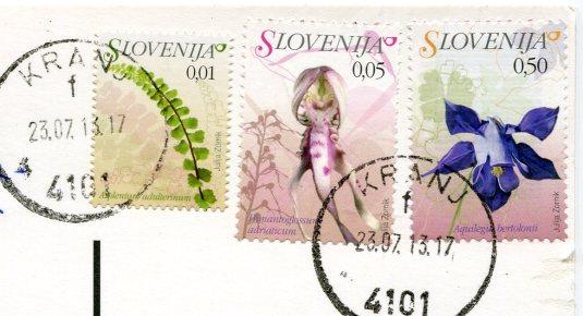 Slovenia - Julian Alps stamps