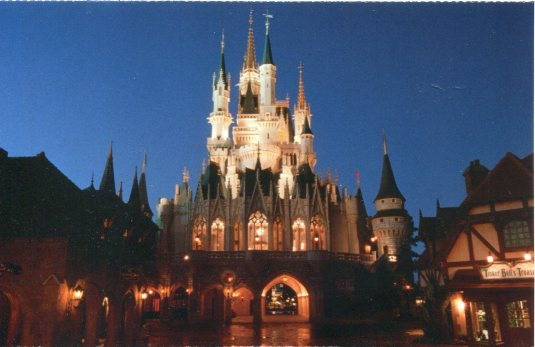 USA - Florida - Castle at Disney World