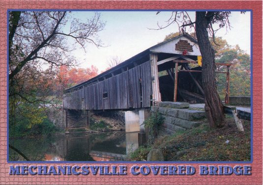 USA - Ohio - Mechanicsville Covered Bridge