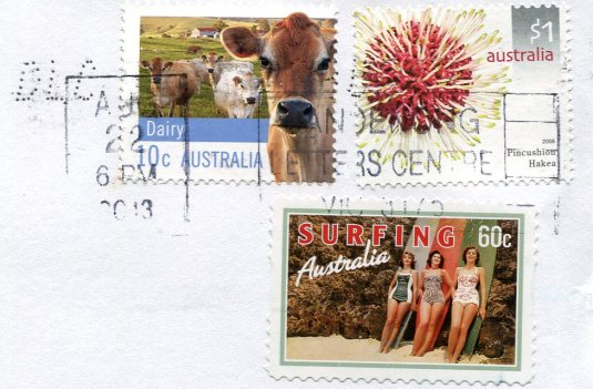 Australia - Cat Person stamps