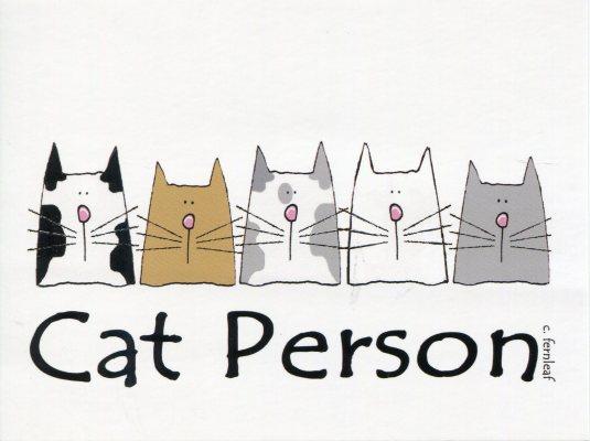 Australia - Cat Person