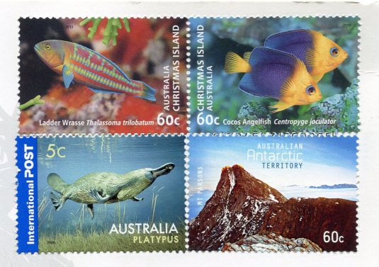 Australia - Outback stamps