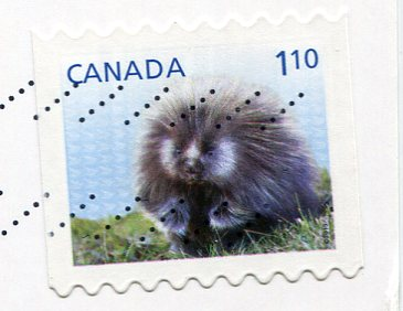 Canada - Flag stamps