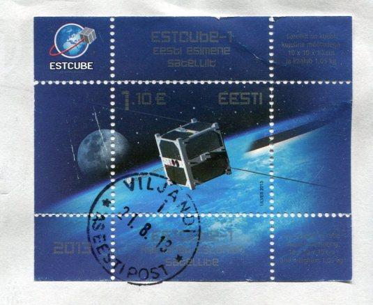 Estonia - Geese on the Farm stamps