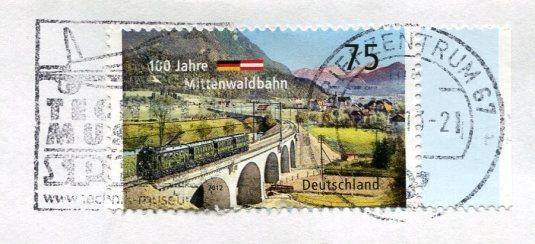 Germany - Bretagne-Frankreich stamps