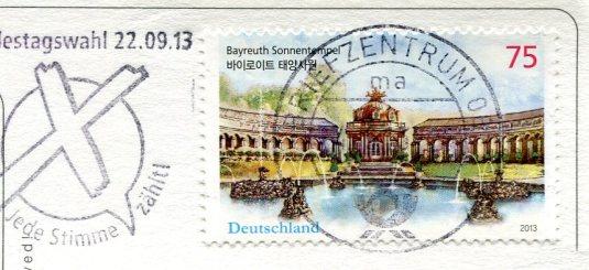 Germany - Göltzsch Viaduct stamps