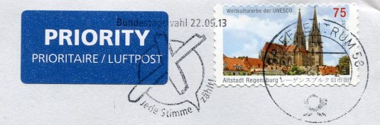 Germany - Norderney Lighthouse stamps