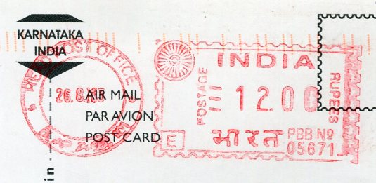 India - Western Ghats stamps