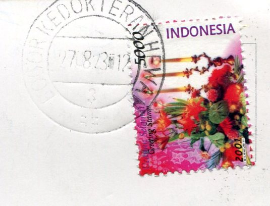 Indonesia - Aldrin stamps