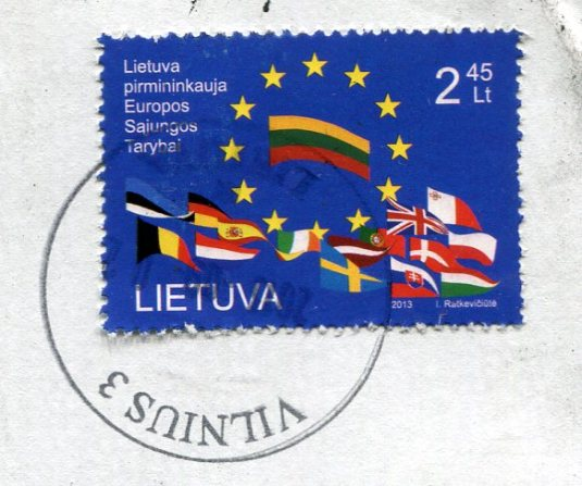 Lithuania - Forest floor stamps