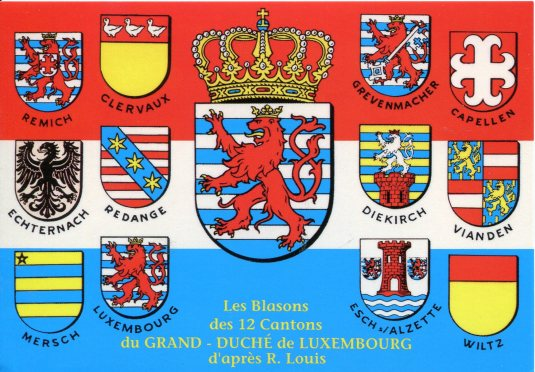 Luxembourg - Crests