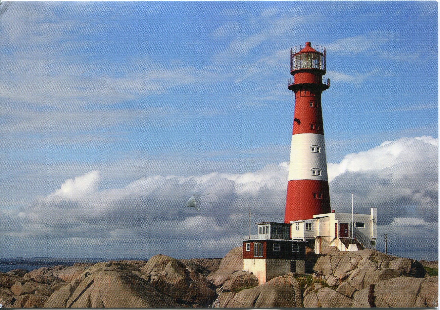 Norway Remembering Letters And Postcards - Norway lighthouses map
