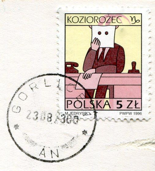 Poland - Lutowiska stamps
