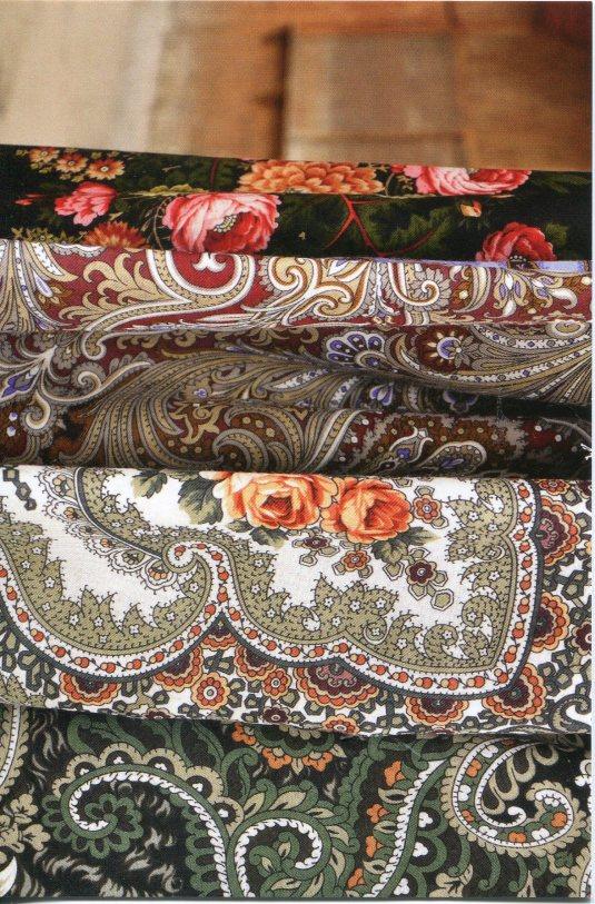 Russia - Shawl Fabrics