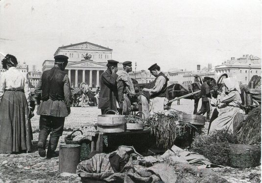 Russia - Trading Stalls 1900s