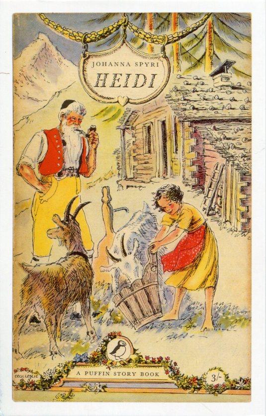 UK - Heidi Cover 1956