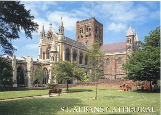 UK - St Albans Cathedral