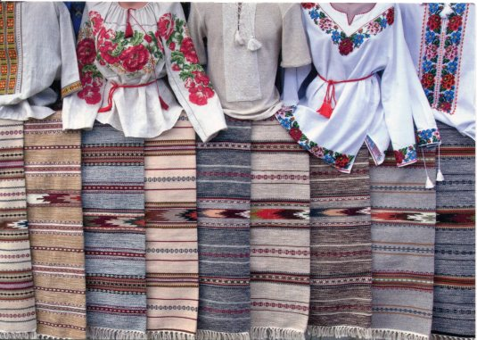 Ukraine - Embroidery  and Weaving