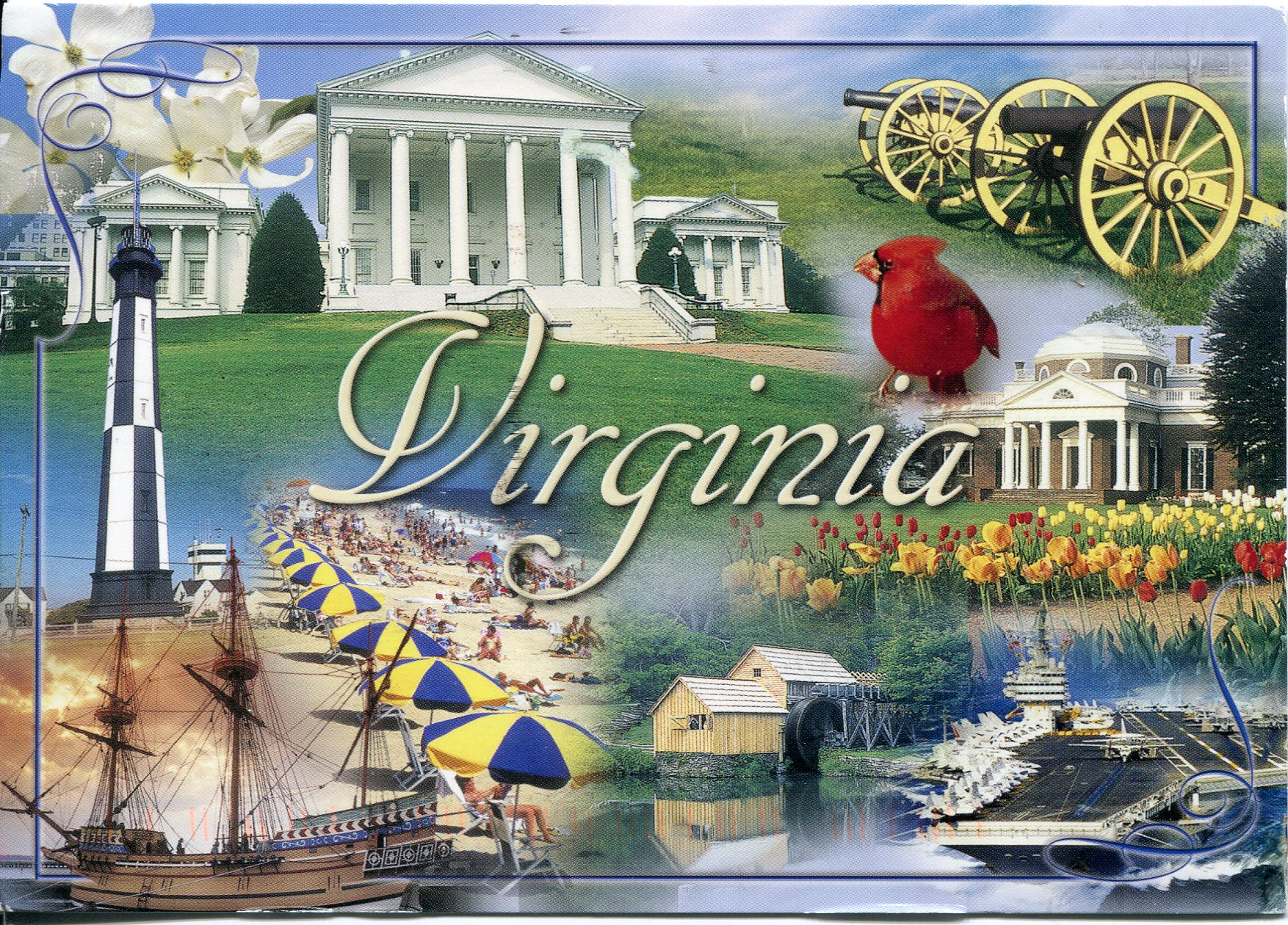 USA Virginia Remembering Letters And Postcards - Usa virginia
