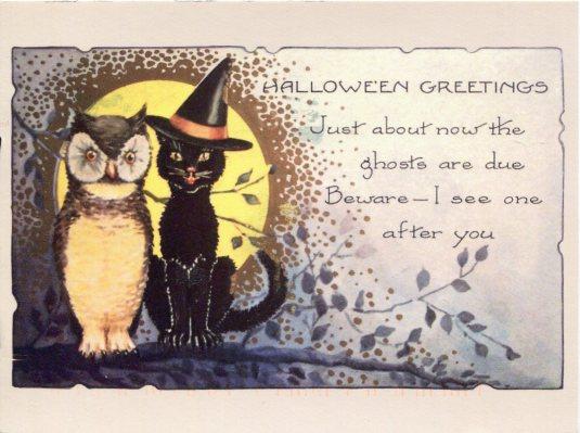 USA - Z - Halloween Greetings
