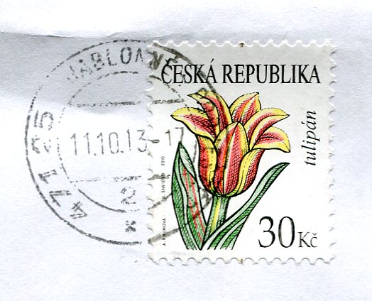 Czech Republic - Train stamps