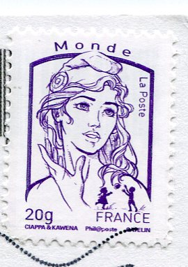 France - Bordeaux stamps