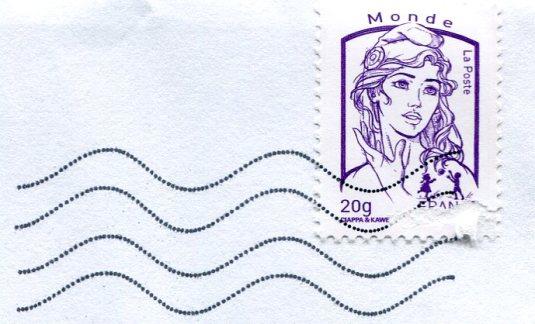 France - Lamb stamps