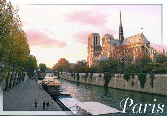 France - Paris canal
