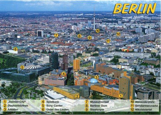 Germany - Berlin Potsdamer Platz legend