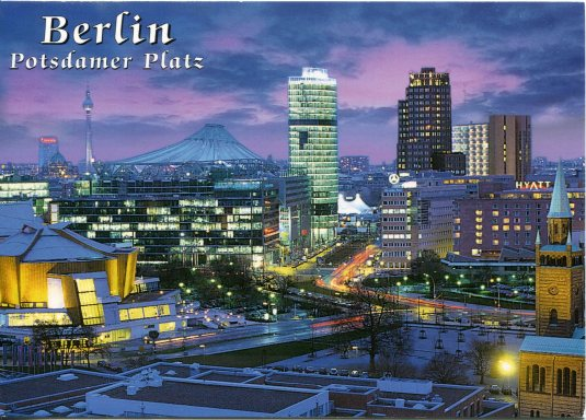 Germany - Berlin Potsdamer Platz night