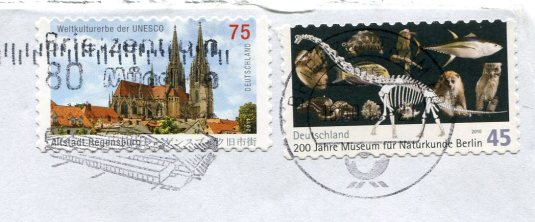 Germany - Roses and Berries stamps