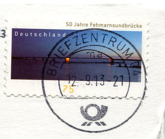 Germany - Thomaskirche Leipzig stamps