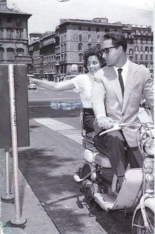 Italy - Vintage Motorscooter