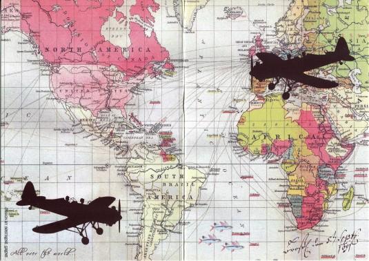 Netherlands - Map of Flight