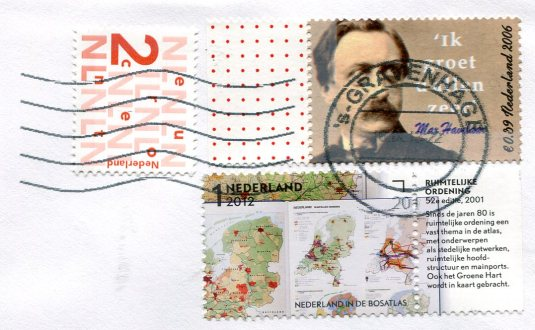 Netherlands - Map stamps