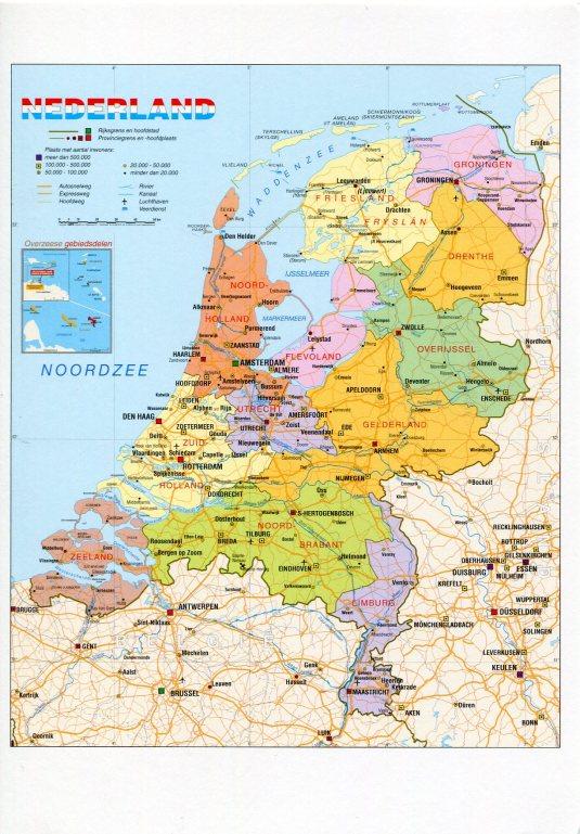Netherlands - Map