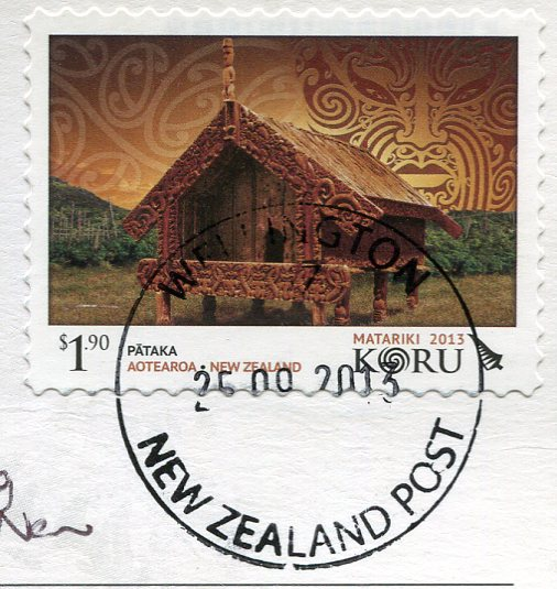 New Zealand - Dalmatian and Lamb stamps