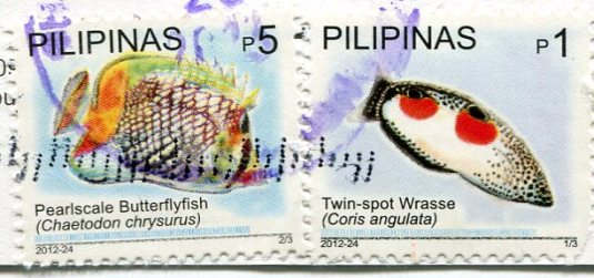 Philippines - Callao Cave Church stamps 2